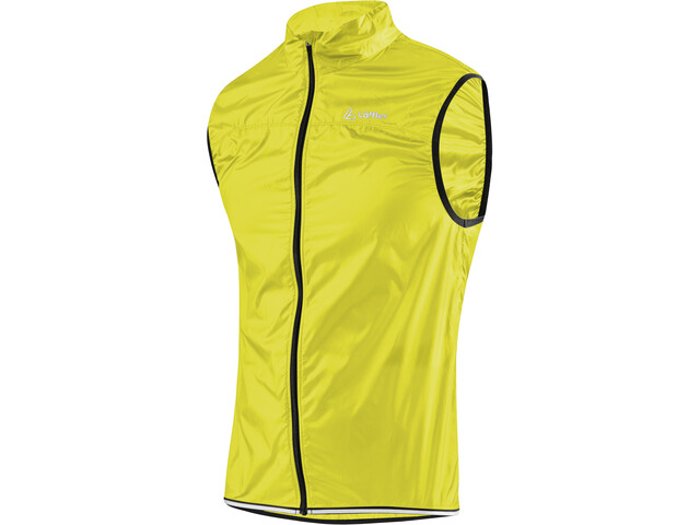 Löffler Windshell Bike Vest Herr neon yellow